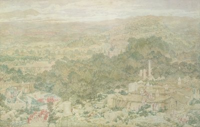 A View of the Ancient City of Tlos in Lycia, 1883 by Richard Dadd - print