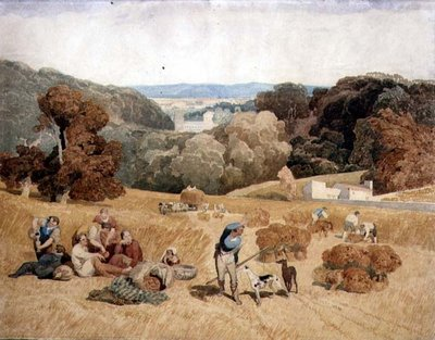 The Harvest Field, 1810 by John Sell Cotman - print