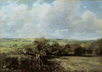 The Vale of Dedham, 1814 by John Constable - print