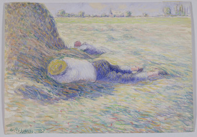 Midday Rest, 1887 by Camille Pissarro - print
