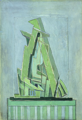 Abstract Composition No 1, 1914-18 by Lawrence Atkinson - print