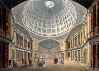 Interior of the Pantheon, Oxford Road, London by William Hodges - print