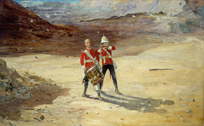 The Drums of the Fore and Aft, 1895 by Edward Matthew Hale - print