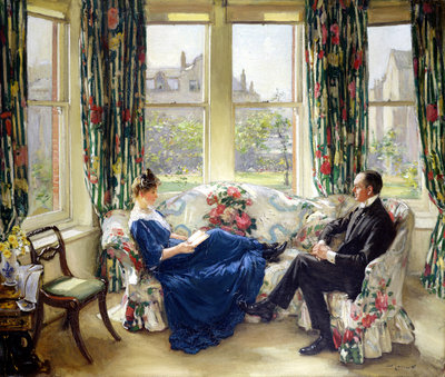 The Morning Room, c.1907 by Sir Walter Russell - print