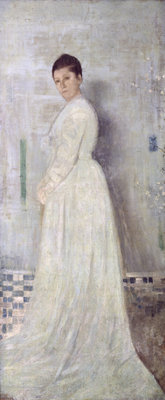 Harmony in White and Blue, c.1860 by James Abbott McNeill Whistler - print