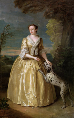 Portrait of Lady Jenkinson, 1742 by Philippe Mercier - print