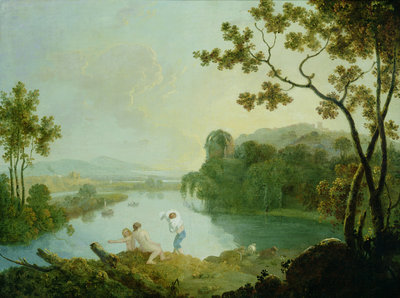 Classical Landscape by Richard Wilson - print