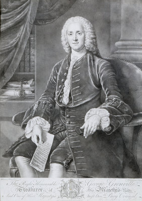 George Grenville by Richard Houston - print