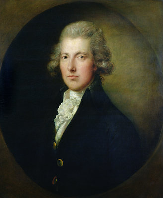 Portrait of William Pitt the Younger by Gainsborough Dupont - print