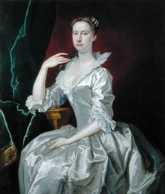 Portrait of Mrs Elizabeth Ingram by Bartholomew Dandridge - print
