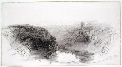 Knaresborough by David Cox - print