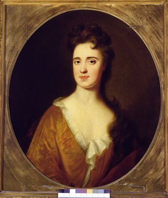 Mary Widdrington, wife of Sir John Gascoigne, 5th Baronet Fine Art Print by English School