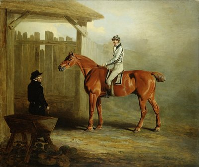 Soothsayer, Winner of the St. Leger 1811 by English School - print