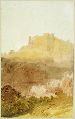 Durham Castle by Joseph Mallord William Turner - print