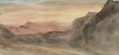 Eskhause, Scawfell, 1806 by John Constable - print