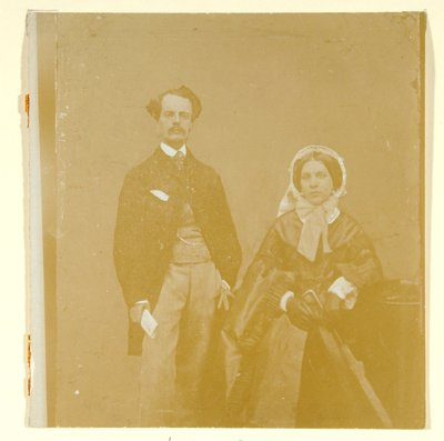 John Atkinson Grimshaw and Theodosia Grimshaw by British Photographer - print