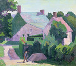 Dunn's Cottage by Spencer Frederick Gore - print