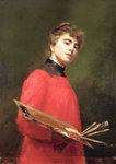 Self Portrait, 1889 by Madame Consuelo-Fould - print