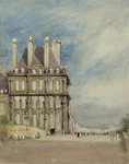 Pavillon de Flore, Tuileries, Paris by Mark Fisher - print
