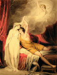 The Reconciliation of Paris and Helen by Francois Boucher - print