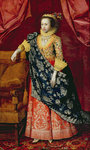 Portrait of a Lady, here called Arabella Stuart by Alonso Sanchez Coello - print