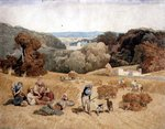 The Harvest Field, 1810 by Nathan Theodore Fielding - print