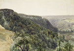 Rievaulx Abbey from the West by George Alexander - print