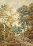 A Lane near Hindhead by John Northcote Nash - print