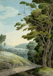 View from Rydal Park by George Arthur Fripp - print