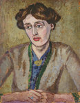 Virginia Woolf by English School - print