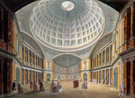 Interior of the Pantheon, Oxford Road, London by Mark Fisher - print