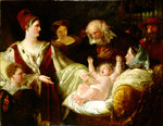 Mary Queen of Scots When an Infant, 1842 by Rembrandt Harmensz. van Rijn - print