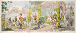 'The Political Medley' or 'Things as They Were in June 1812', pub. 1812 by James Gillray - print