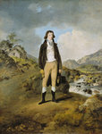 Portrait of a Young Man, 1790 by Thomas Girtin - print