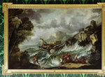 Seascape with Shipwreck, c.1700-07 by Charles Napier Hemy - print