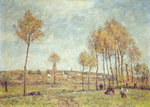At Montreuil by Joseph Rhodes - print