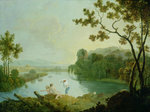Classical Landscape by Joseph Mallord William Turner - print