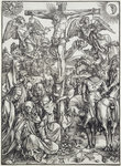 Christ on the Cross Fine Art Print by Martin Schongauer