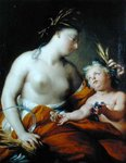 Allegory of Autumn by Paolo di Matteis - print