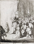 Presentation in the Temple by Christian Wilhelm Ernst Dietrich - print