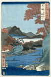Tatsuta River, Yamato Province by Joseph Mallord William Turner - print