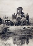 Kirkstall Abbey from the South-East, 1899 by John Sell Cotman - print