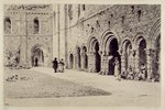 The Cloister, Kirkstall Abbey, 1893 by John Sell Cotman - print