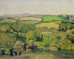 Drift Valley by Sir Alfred East - print