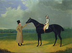 Jerry, Winner of the St. Leger 1824 by George Paice - print