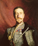 Colonel Frederick Richard Thomas Trench-Gascoigne DSO by French School - print