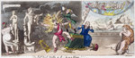 The Pall Mall Apollo or, R...ty in a blaze!!! 1816 by James Gillray - print