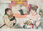 Patent Puppets alias the Hertfod Fantoccini, 1812 by George Cruikshank - print