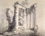Temple of the Sibyl, Tivoli by Eric Ravilious - print