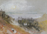 Tancarville, c.1830 by John Constable - print